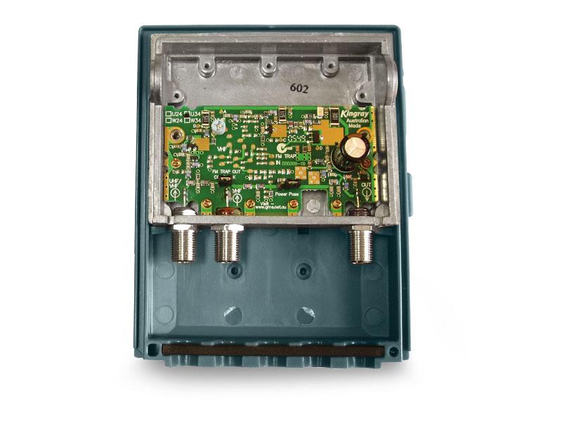 kingray masthead amplifier installation instructions