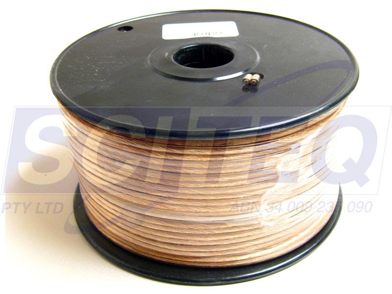 speaker cable heavy duty 50m roll sciteq perth wa. Black Bedroom Furniture Sets. Home Design Ideas