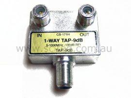 Terrestrial TV Tap 1 Way 9dB