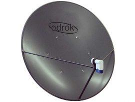 Azure Shine 120cm offset satellite dish
