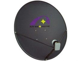 Azure Shine 90cm offset satellite dish boxed