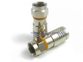 Odrok Compression Connector for RG6 Tri Shield Cable