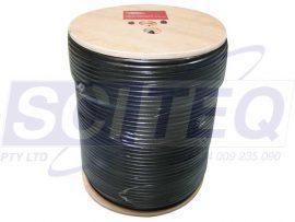 Odrok Quad Shield RG6 305m Coaxial Cable