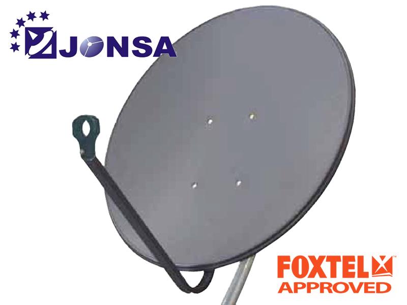 jonsa 85cm satellite dish boxed sciteq perth wa