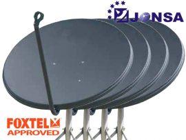 Jonsa 65cm Satellite Dish 4 pack