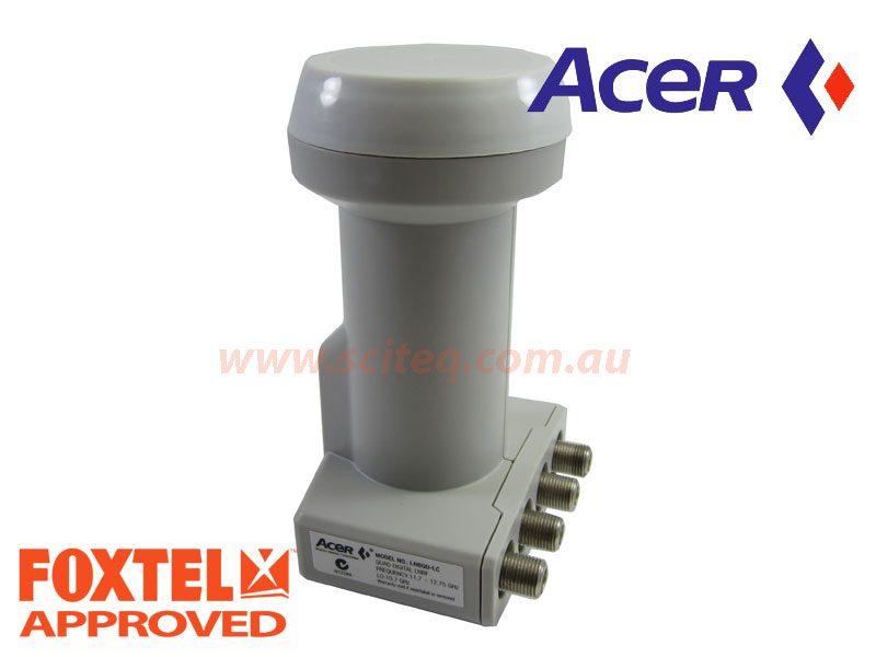 Acer LNBF 10.7GHz quad output