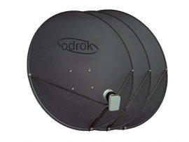 Azure Shine 90cm satellite dish 3 pack