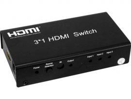 Pro2 HDMI3SM 3 Input Mini HDMI Selector