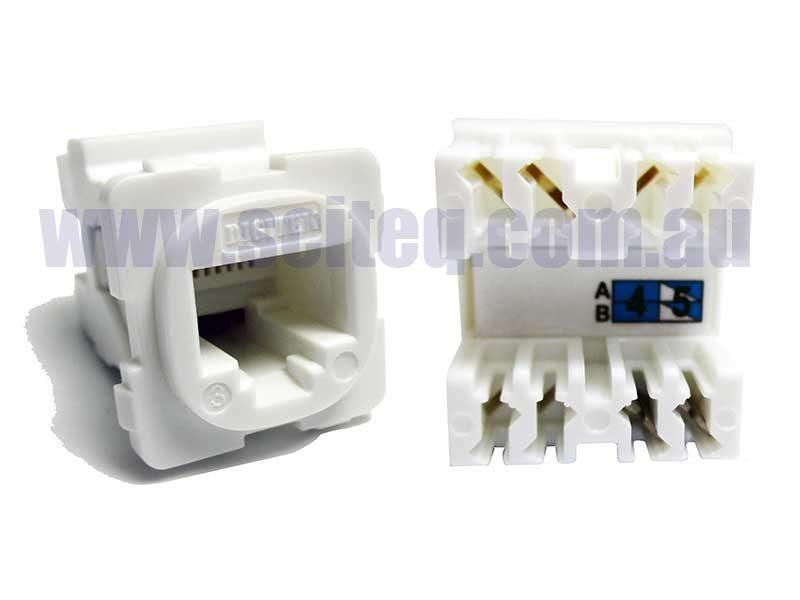 Digitek 05CRJ45C3 Telephone RJ12 Insert 2P2C